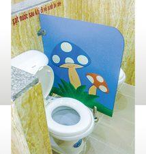 Vách ngăn vệ sinh